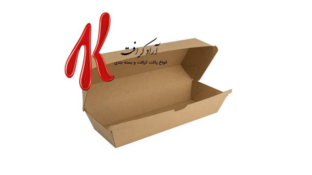 تولید و عرضه جعبه ساندویچ