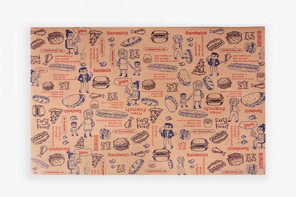 خرید ارزان ترین پاکت کرافت ساندویچ