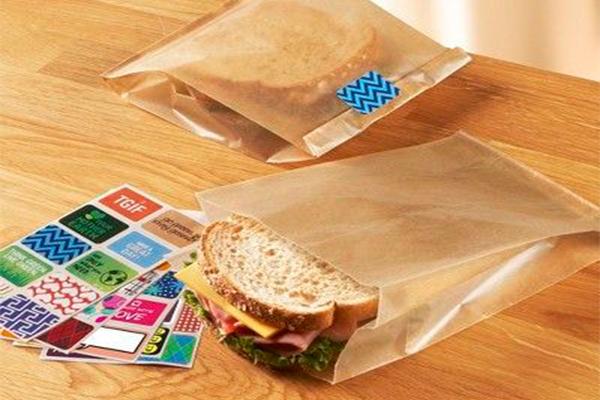 طراحی و تولید پاکت بسته بندی ساندویچ