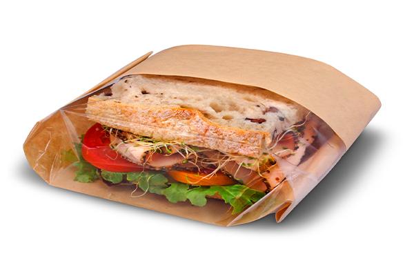 فروشگاه مرکزی پاکت کاغذی ساندویچ