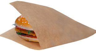 فروش بالای پاکت ساندویچ همبرگر