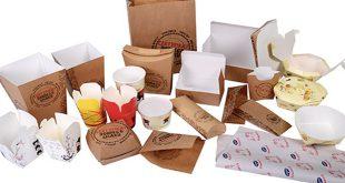 چاپ و بسته بندی انواع پاکت فست فود
